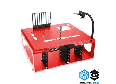 DimasTech® Bench/Test Table Easy V3.0 Spicy Red