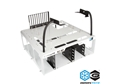 DimasTech® Bench/Test Table EasyXL Milk White